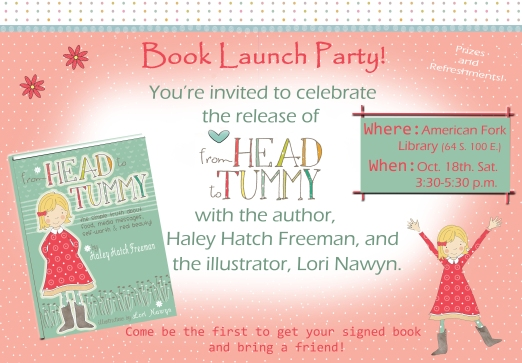 Book Launch invite